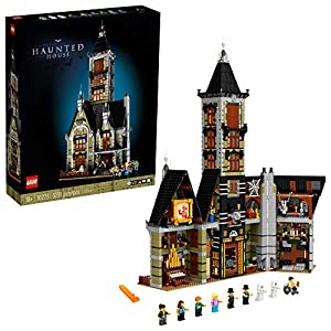 LEGO Haunted House (10273) Building Kit; A Displayable Model Haunted House and a Creative DIY Project for Adults, New…
