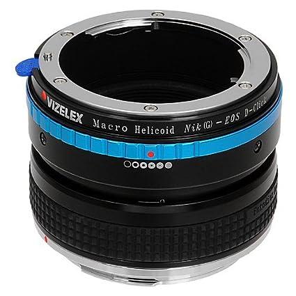 60D & Rebel T3 Fotodiox Pro Lens Mount Adapter 5D EF-S Mount ...