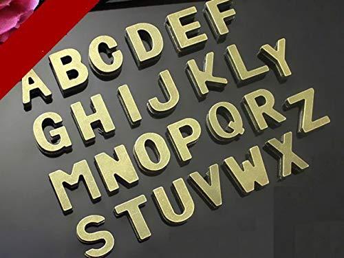 10 Slide Mm Charm - Pukido 26 Bronze Tone Alphabet Letter