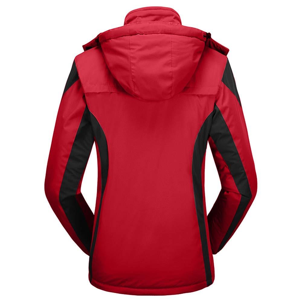 Amazon.com: Mens Coat, FORUU Womens Winter Outdoor Cashmere ...