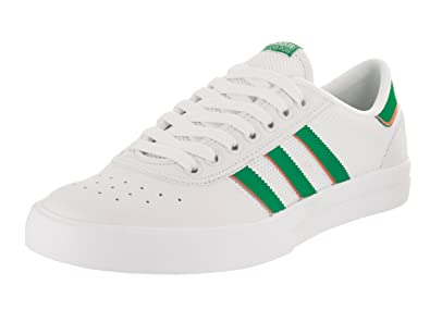 reputable site 34085 4f34b adidas Lucas Premiere ADV (White Green White) Men s Skate Shoes-8