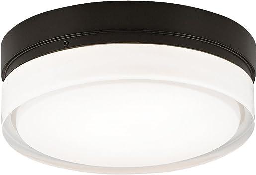 Tech Lighting 700CQLS Cirque, Large Flush Mount, 13.6 x 13.6 x 6.8 , Satin Nickel