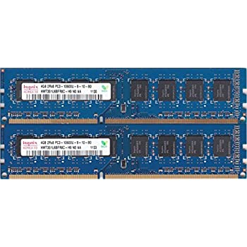 HMT351U6AFR8C-H9 New 4x4GB PC3-10600U DDR3 1333Mhz 240pin Intel Desktop Memory,