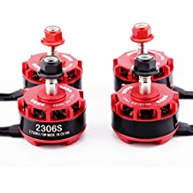 Quadcopter motor, Rcharlance 2 Pics CW/CCW BR2306S 2700KV 2-4S Brushless Motor For X210 X220 250 FPV Racing Drone Multirotors Quadcopter 1CW 1CCW