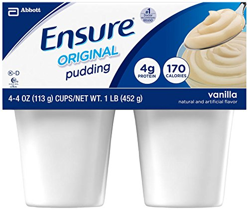 Ensure Pudding- Vanilla - 48 ct.