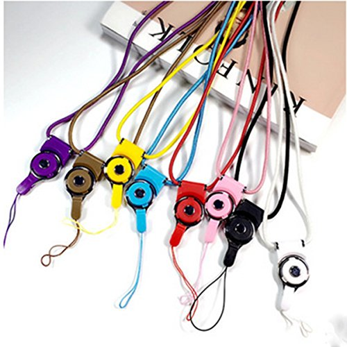 JIAHUI 8 Pcs Universal Detachable Cell Phone Neck Lanyard, 20