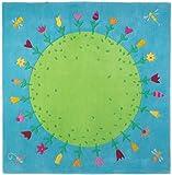 Tapis - Planète fleurie