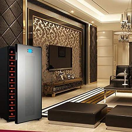 YFGQBCP Inicio termostato Enfriador de Vino Incorporado o Ruido Independiente 180L refrigerador de Vino Chiller Touch Control de Baja vibración de Baja