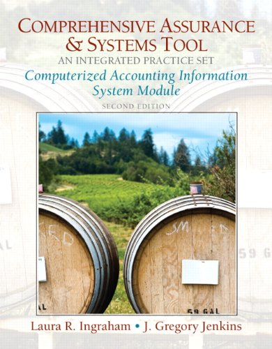 Computerized Practice Set for Comprehensive Assurance & Systems Tool (CAST)-Integrated Practice Set (2nd Edition) (P