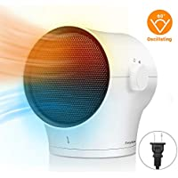 EasyAcc Personal Space 1000W Electric Air Heater