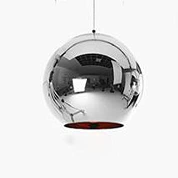 Amazoncom Wy Space Plating Ball Pendant Light Led Creative Modern