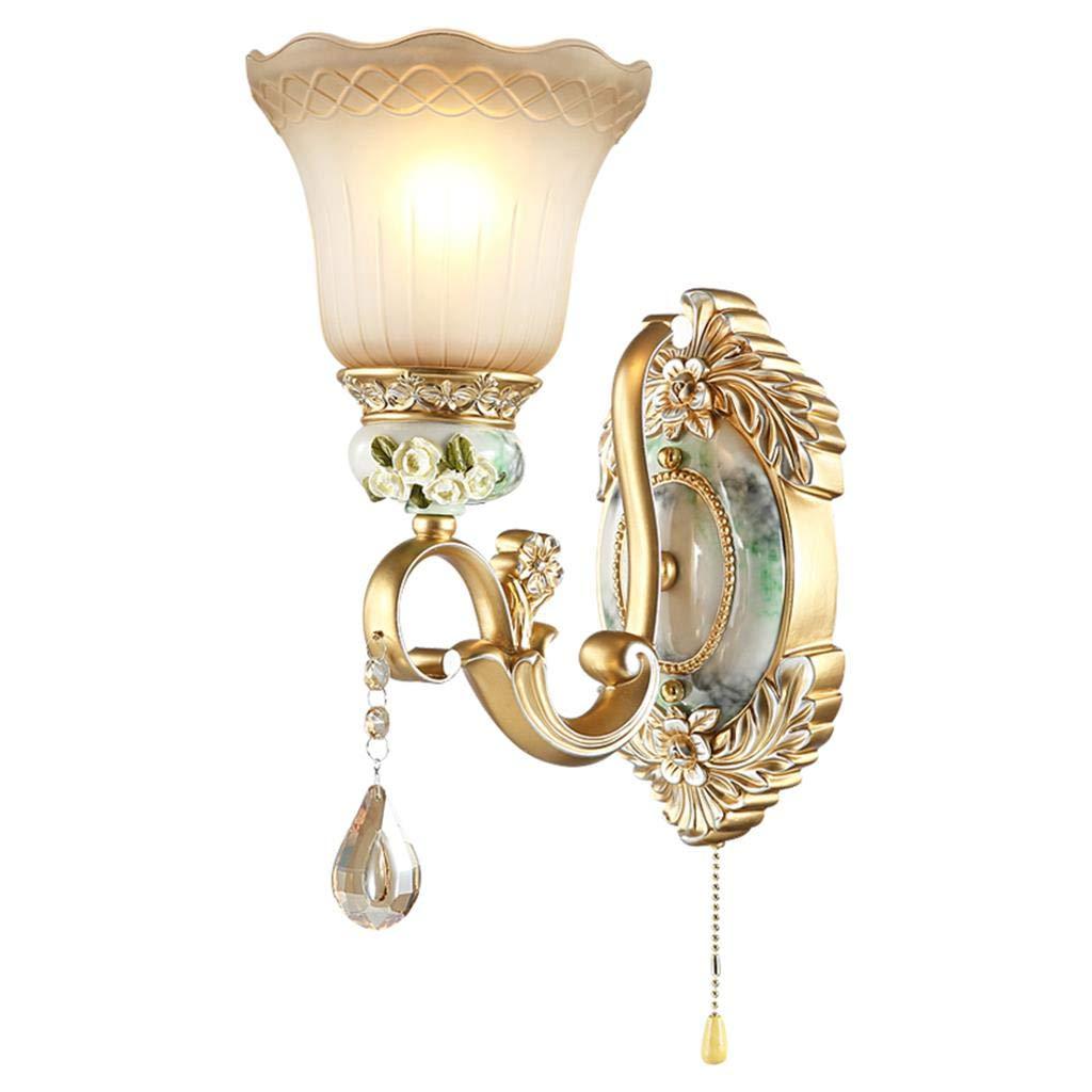 Wandlampe Nachttischlampe Schlafzimmerlampe Wohnzimmer Treppenhaus Lampe Retro Lampe