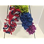 GRAVE-DECOR-CEMETERY-MARKER-FUNERAL-ARRANGEMENT-GAY-PRIDE-LGBTQ-PRIDE-USA-PRIDE-MILITARY-PRIDE-PATRIOTIC-RED-WHITE-AND-BLUE-ROSES-AND-RAINBOW-CARNATIONS-DAISIES-AND-ZINNIAS