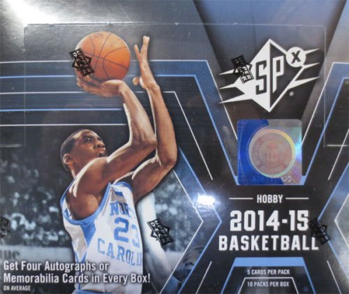 2014-15 Upper Deck SPx Basketball Hobby Box