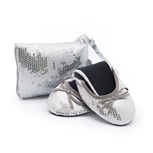 CatMotion Faltbare Schuhe für Die Handtasche DamenBallerinas ...