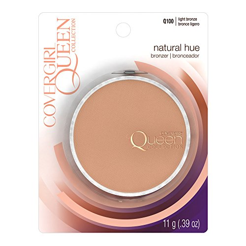 COVERGIRL Queen Natural Hue Mineral Bronzer Light Bronze.39 oz (packaging may vary) by COVERGIRL (Image #1)