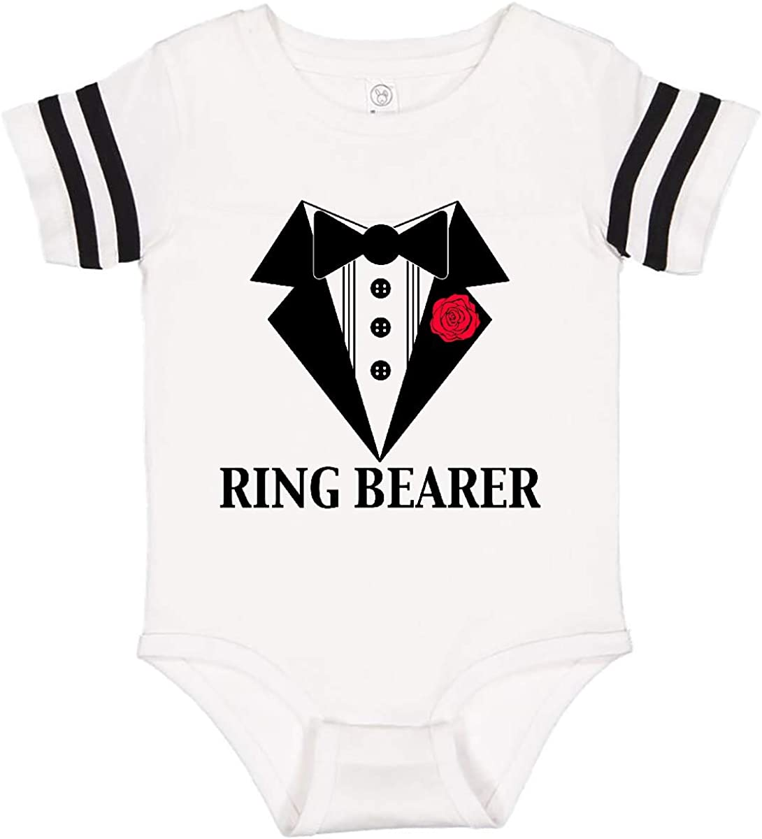 Baby Silhouette inktastic Little Man Baby Wearing a Tie Long Sleeve Creeper