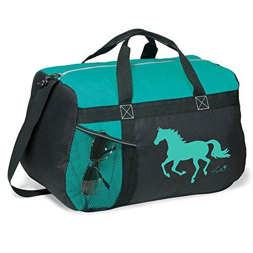 Lila Helmet Duffle Bag Turquoise