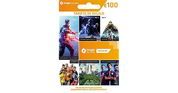 Origin Access Premier 12 Meses | Tarjeta de Regalo - €100 | Código ...