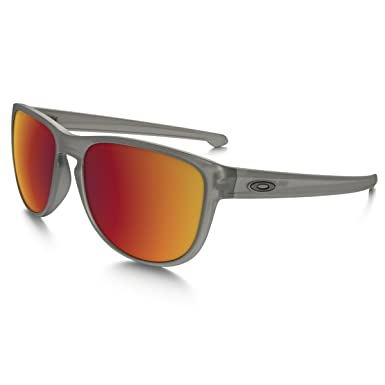 db4c7895b6 Oakley Sliver R Sunglasses - Polarized Matte Grey Ink Torch Iridium One Size