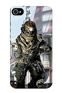 New Arrival Case Cover Kvpcfi-6119-fbbofhm With Design For Iphone 4/4s- Titanfall Best Gift Choice For Lovers