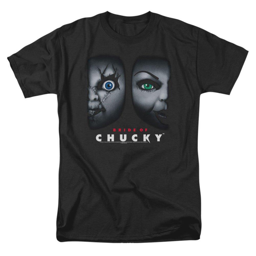 Chucky Bride of Happy Couple Mens Short Sleeve Shirt Trevco