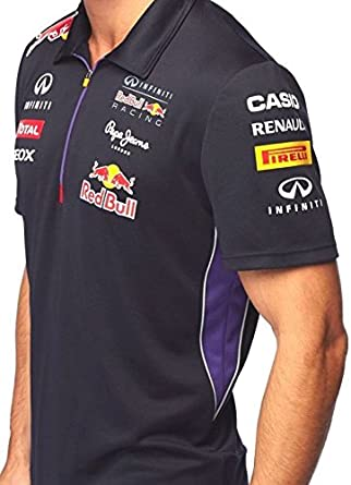 Red Bull Polo Infiniti Racing de Fórmula 1 del Equipo Oficial Azul ...