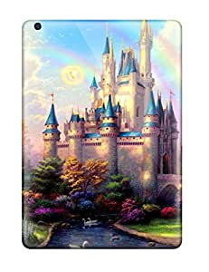 Durable Hard Cell-phone Case For Ipad Air (Wzt16217HcNr) Customized Realistic Thomas Kinkade Disney Paintings Series