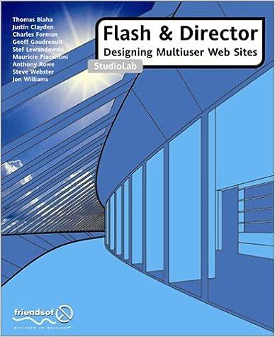 Flash and Director Multi User Web StudioLab