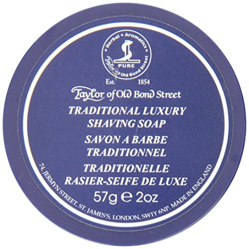 Taylor of Old Bond Street Traditional Luxury Shaving Soap in Travel Bowl by Taylor of Old Bond Street