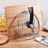 MiniInTheBox Kitchen Supplies Stainless Steel Lid Rack Knife Cutting Board Chopstick Holder Kitchen Shelf