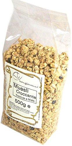 Muesli crujiente con avellanas y miel 500 g: Amazon.es: Alimentación y bebidas