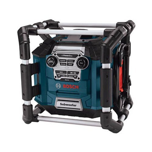 Factory-Reconditioned Bosch PB360S-RT Power Box Jobsite AM/FM Stereo with MP3 Compatibility - Stereo Bosch