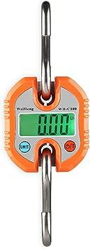 Hängewaage Kranwaage Lastenwaage LCD Digital Gepäckwaage bis 150 kg Hakenwaage