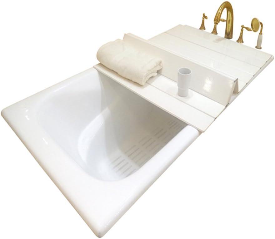 """A.B Crew Creative Folding Bathtub Tray Bathtub Caddy - Good for Keeping Water Hot (29.5""""x45.3"""") 51Z27b7GlFL"""