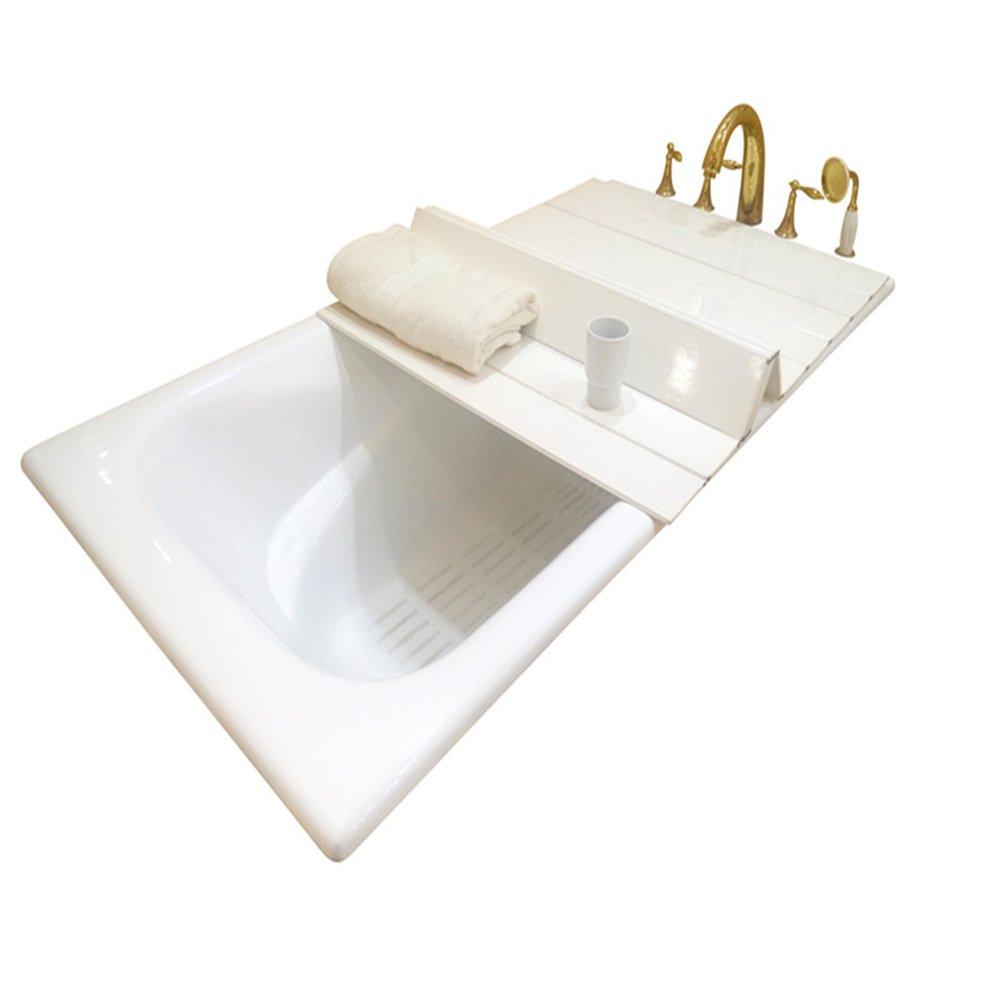A.B Crew Creative Folding Bathtub Tray Bathtub Caddy - Good for Keeping Water Hot (31.5''x49.2'') by A.B Crew