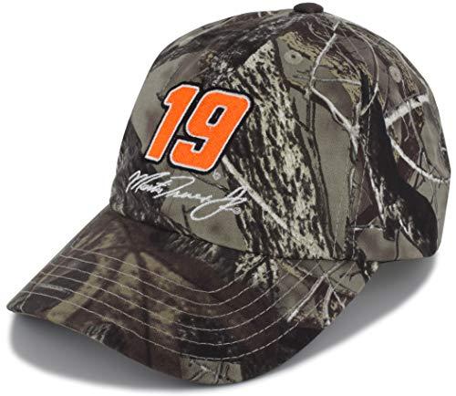 Checkered Flag Martin Truex Jr TrueTimber Camo Big Number #19 NASCAR Hat