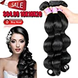 Beauty Youth Hair Brazilian Bundles Virgin Hair Body Wave 16 18 20inches 7A Unprocessed Remy Human Hair Weave Extensions Natural Color 95-100g/pc