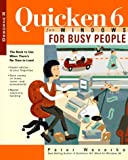 Quicken 6 for Windows for Busy People, Peter Weverka, 0078822432