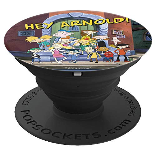 (Hey Arnold Friends Group Shot Poster Style - PopSockets Grip and Stand for Phones and Tablets)