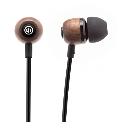 22a9b0e46d1 Wicked Audio WI-BT2850 Wireless in-Ear Headphones (Black and Wood)