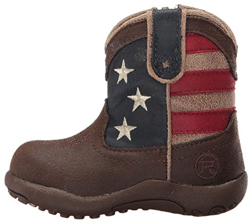 Pictures of Roper Baby American Patriot Brown 3 M US Infant 5