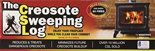 Csl Lighting Creosote Sweeping Log, 1 Each