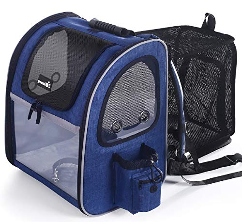 🥇 Pecute Pet Carrier Backpack