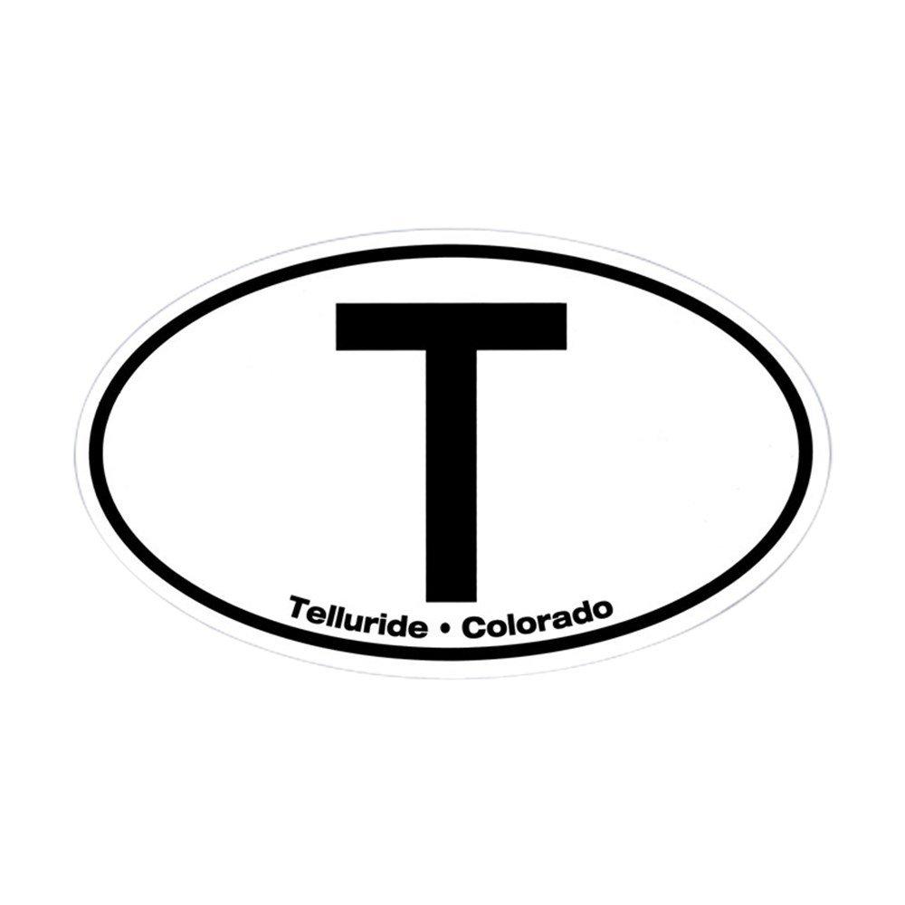 【返品交換不可】 CafePress – Tellurideユーロオーバル楕円形ステッカー – オーバルバンパーステッカー Small、車デカール Small ホワイト - 3x5 Small ホワイト 00163635983C784 Small - 3x5 ホワイト B00QH702EE, BAR TOKYO:706afd26 --- mvd.ee