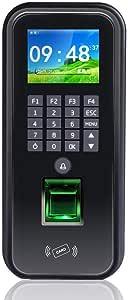 جهاز حضور وانصراف وتحكم بالابواب عن طريق البصمة والرقم السري