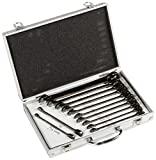 ATE Pro. USA 10932 Ratchet Wrench, Duometric, CRV with Aluminum Case 12-Piece Set