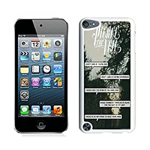 Hot Sale iPod Touch 5 Case ,Popular And Unique Designed With Band pierce the veil Quotes (3) White iPod Touch 5 High Quality Cover