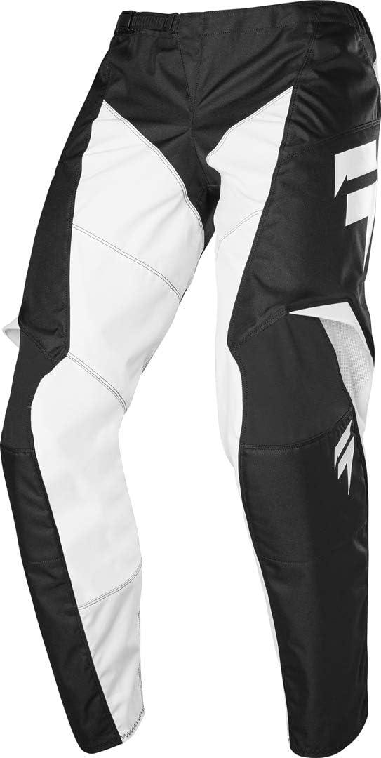 2020 Shift White Label Race 1 Pants-Black//White-34