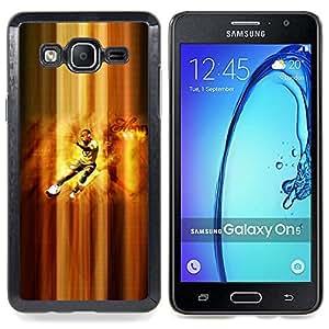 "Qstar Arte & diseño plástico duro Fundas Cover Cubre Hard Case Cover para Samsung Galaxy On5 O5 (Henry Jugador de fútbol"")"